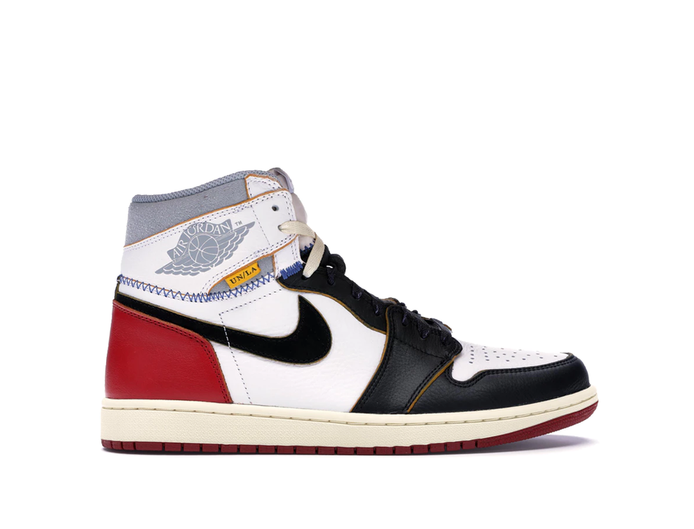 NIKE x UNION AIR JORDAN 1 HIGH BLACK TOE