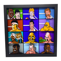 Mike Tyson's Punch Out Fighters 3D Art