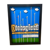 Disneyland Sign 3D Art