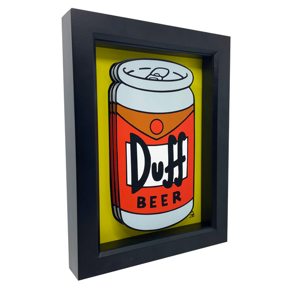 Duff Beer 3D Art