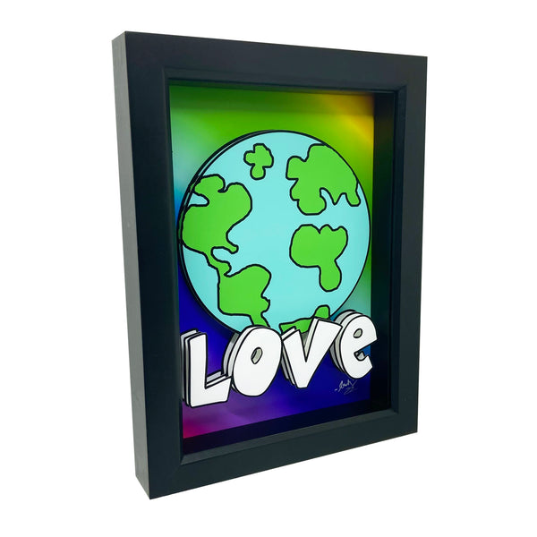 Love on Earth 3D Art