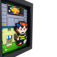 Earthbound 3D Art
