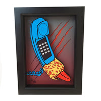 Freddy Krueger Tongue Phone 3D Art