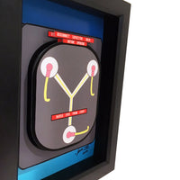 Back to the Future Flux Capacitor 3D Art