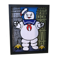 "Stay Puft Marshmallow Man 11x14"" 3D Art"