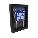 Bates Motel Sign 3D Art