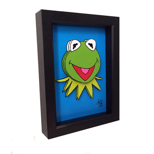 Kermit the Frog 3D Art