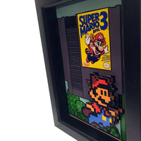 Super Mario Bros 3 3D Art