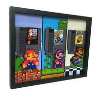 Super Mario Bros Trilogy 3D Art