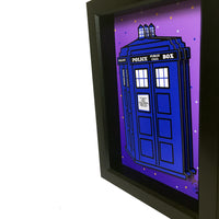 Doctor Who Tardis 3D Art