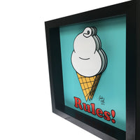 Ice Cream Rules! 3D Art
