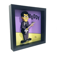 Buddy Holly 3D Art