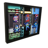 Mega Man Trilogy 3D Art