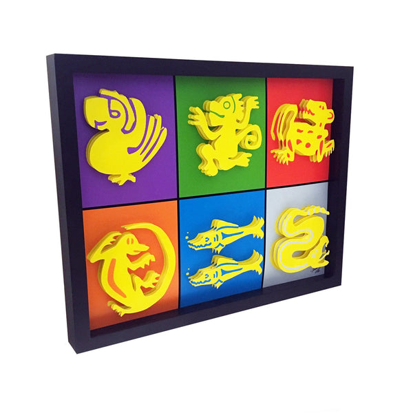 Legends of the Hidden Temple 3D Art