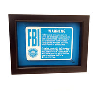 FBI Warning 3D Art