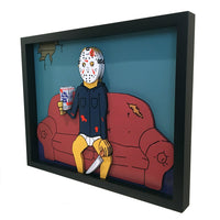 Relaxing Jason Voorhees 3D Art