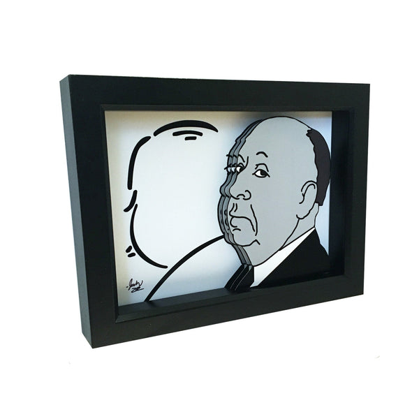 "Alfred Hitchcock Presents 3D Art (5x7"" version)"