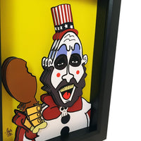 "Captain Spaulding 5x7"" 3D Art"