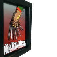 Freddy Krueger Glove 3D Art