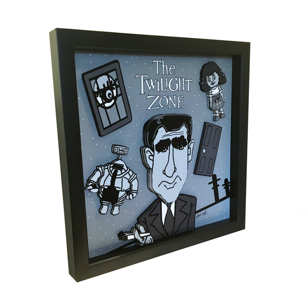Twilight Zone 3D Art