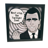 Rod Serling Quote 3D Art
