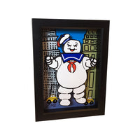 "Stay Puft Marshmallow Man 5x7"" 3D Art"
