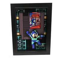 Mega Man 2 3D Art