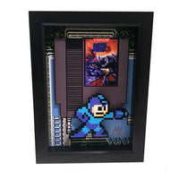 Mega Man 3 3D Art