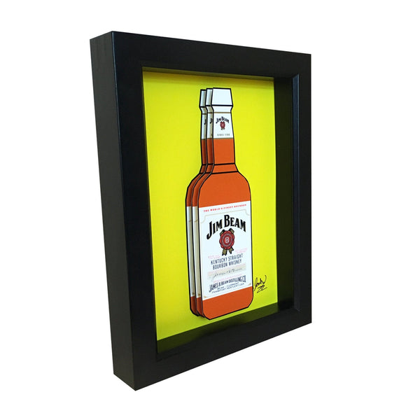 Jim Beam 3D Art