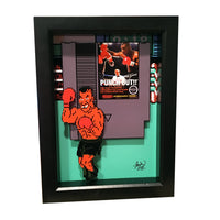 Mike Tyson Punch Out 3D Art