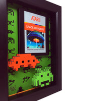 Space Invaders Atari 3D Art