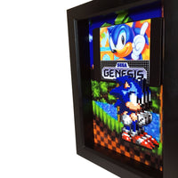 Sonic the Hedgehog 3D Art