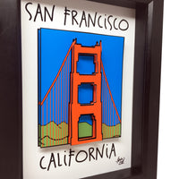 Golden Gate Bridge 3D Art