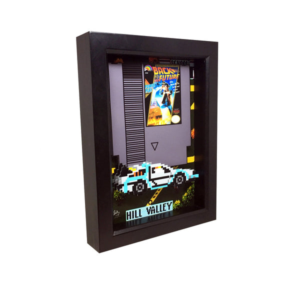 Back to the Future Nintendo 3D Art