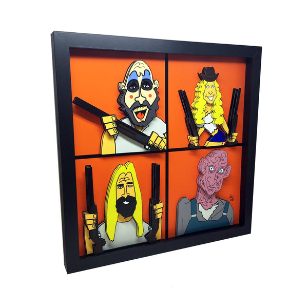 The Devil's Rejects 3D Art
