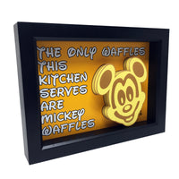 Mickey Waffles 3D Art