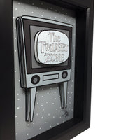 Twilight Zone TV 3D Art