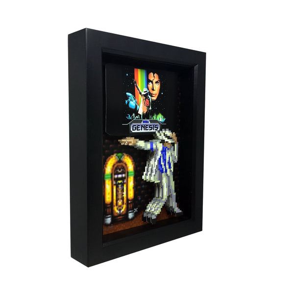 Michael Jackson Moonwalker 3D Art