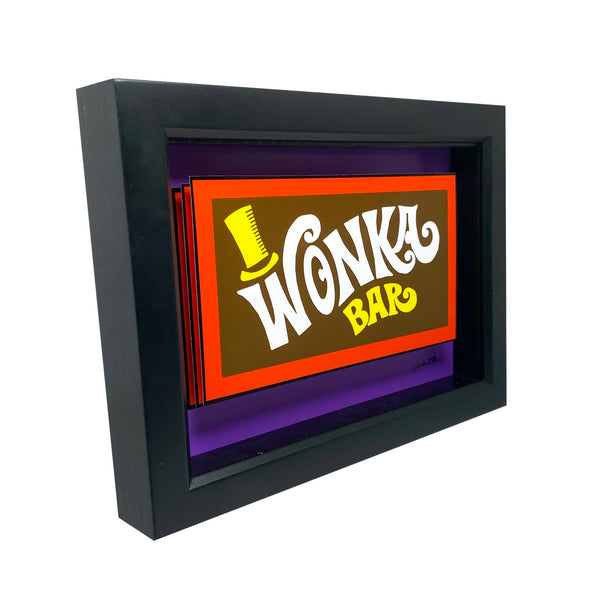 "Wonka Bar 5x7"" 3D Art"