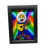 "Jerry Garcia 5x7"" 3D Art"