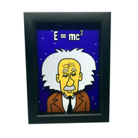 Albert Einstein 3D Art