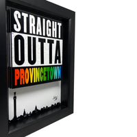 Straight Outta Provincetown 3D Art