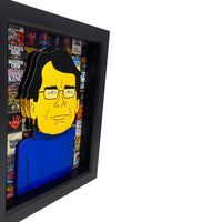 Stephen King 3D Art