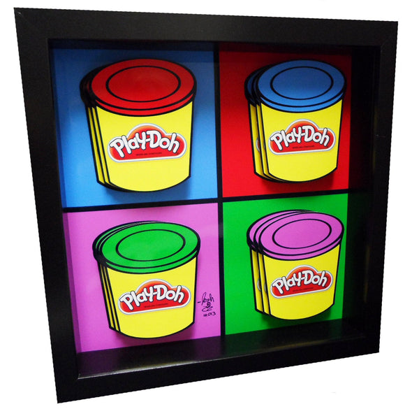 Play Doh 3D Art