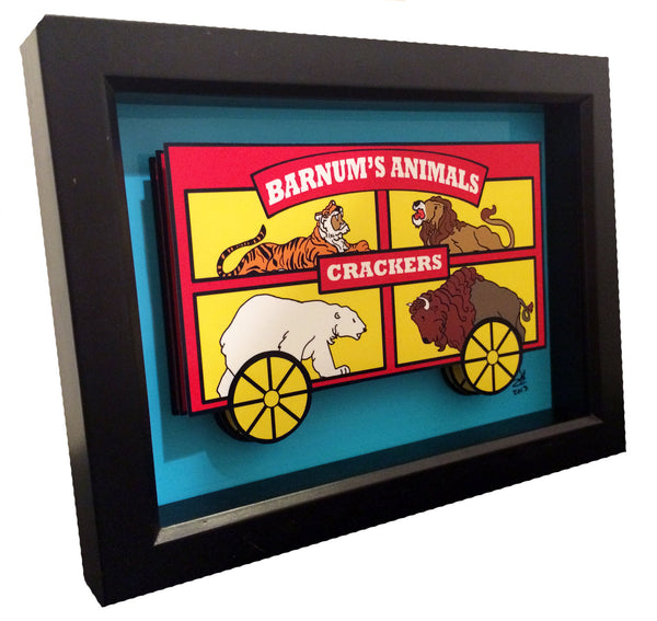 Animal Crackers 3D Art
