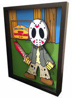 Friday the 13th 3D Art