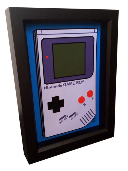 Nintendo Game Boy 3D Art