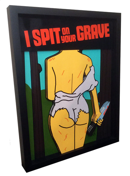I Spit On Your Grave 3D Art