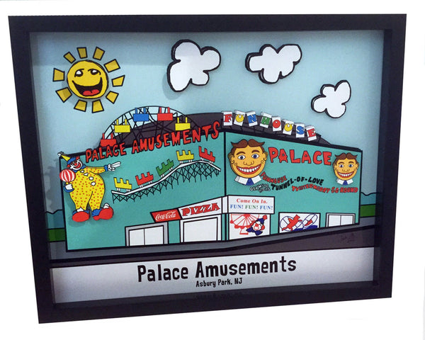 Asbury Park Palace Amusements 3D Art