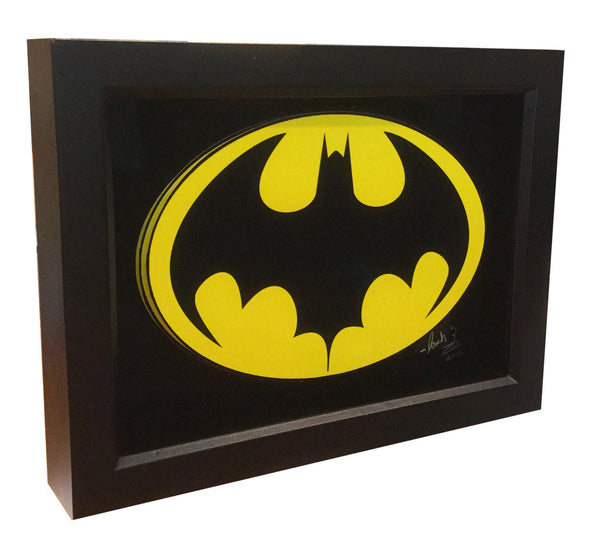 Batman 1989 Batsuit Symbol 3D Art